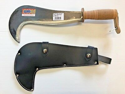 Muller  Bill Hook & Scabbard Hedge Laying Coppicing Woodland Craft Fencing