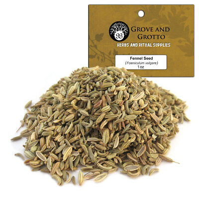 Fennel Seed 1 oz Package Ritual Herb Anise Seeds C/S by Grove and Grotto