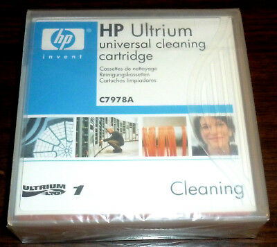 HP C7978A Genuine NEW LTO Ultrium Universal Cleaning Cartridge SEALED