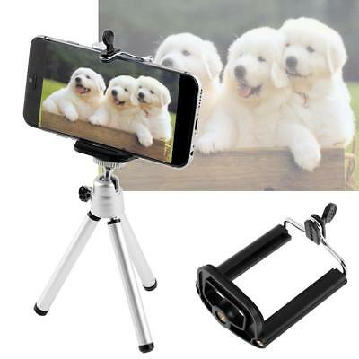 HOT Universal Mini Flexible Stand Tripod Mount + Free Holder For Smart Phone GA