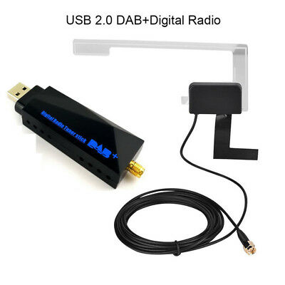 DAB+ Digital Radio Tuner USB Stick+Antenna f/ Android 5.1 6.0 7.1 Car DVD Stereo