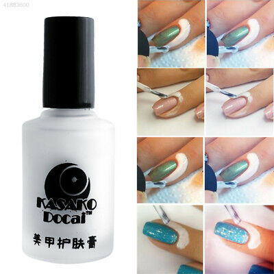 7A7C Fashion 15ml White Peel Off Liquid Tape Base Cream Nail Polish Palisade