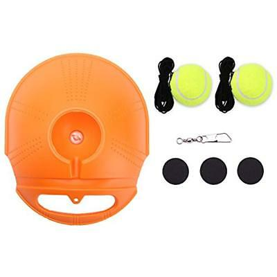 JUOIFIP Tennis Trainer Set Rebound Baseboard, Fill & Drill Self-study Practice 2