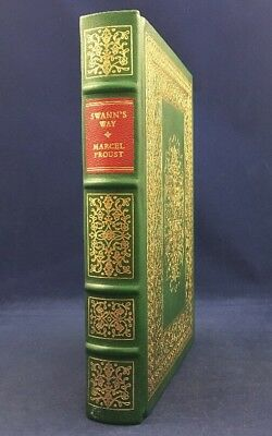 Swann's Way Marcel Proust Franklin Library Oxford University Deluxe Leather