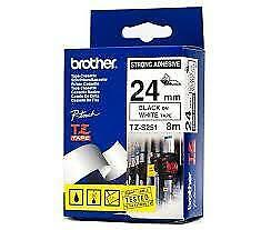 Brother TZeS251 Labelling Tape - 8 meters