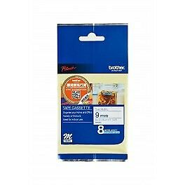 Brother MK223 Labelling Tape - Blue on White M Tape 9mm - 8 meters