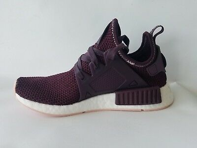 sneakers for cheap 852c7 89c59 ADIDAS NMD XR1 Burgundy Maroon Sneakers Size 6.5 Y Women's 8