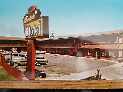 """Vintage Reno Nevada   'The Chalet Motel""""  Circa Late 1950's  Very Clean"""