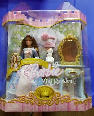 Barbie Princess Mini Kingdom Mini Barbie Erika Doll. Mattel. Best Price