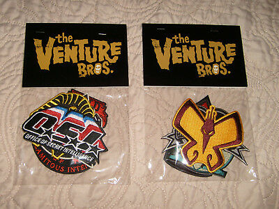 Venture Bros Adult Swim Store Exclusive Embroidered Logo Patches
