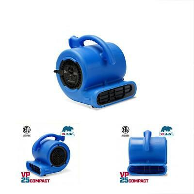 B-Air Categories VP-25 1/4 HP 900 CFM Mover For Water Damage Restoration Carpet