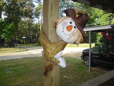 Halloween/thankgiving Scarecrow Pole Hugger