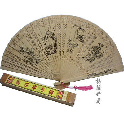 Chinese high-grade sandalwood fan folding fan female fan