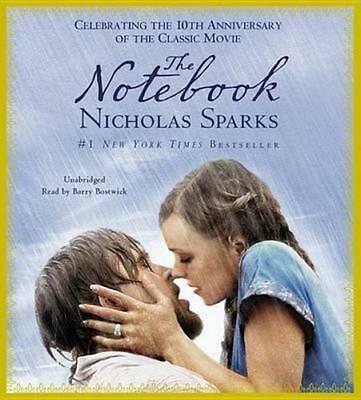NEW The Notebook By Nicholas Sparks Audio CD Free Shipping