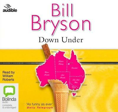 NEW Down Under By Bill Bryson Audio CD Free Shipping
