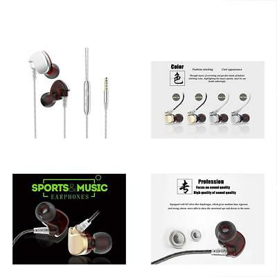 SXNETWORK Noise Isolation Workout Music Earbuds,Running Sport Earphones With