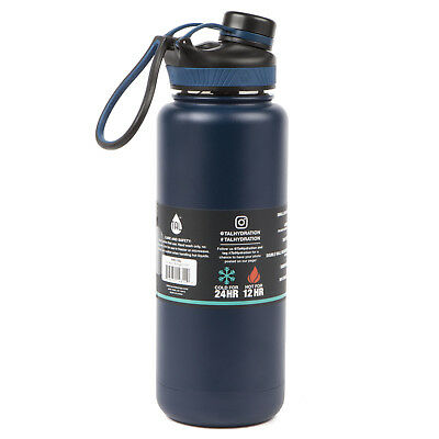 TAL Navy 40oz Double Wall Vacuum Insulated Stainless Steel Ranger Pro Water Bot