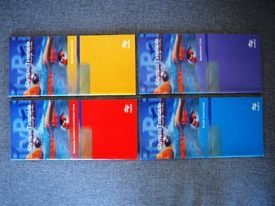 4 x Sydney Olympic Games CityRail Train Timetables NSWGR 2000 sydney railway