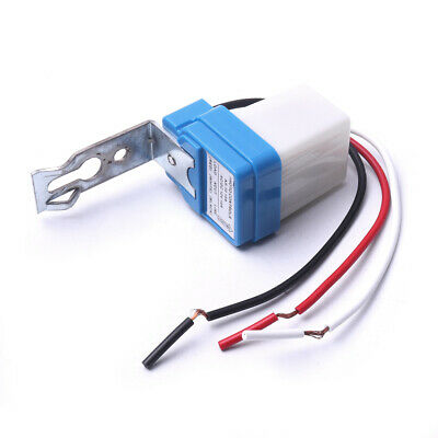 2pcs AC DC 12V 10A Photo Control Auto On Off Photocell Light Sensor Switch