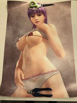 Dead Or Alive Xtreme 3 Bathroom B2 Posters (All 9 Set) U.S Seller!!!