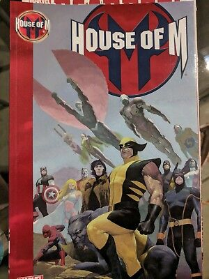 House of M Trade Paperback Marvel Comics
