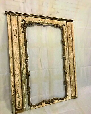 Original 17th Century Classical French Renaissance Mirror For Restoration - 6ft