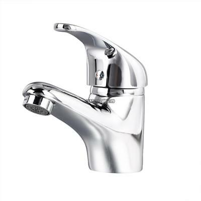 Brushed Waterfall Bathroom Basin Faucet Single Handle Sink Mixer New 03