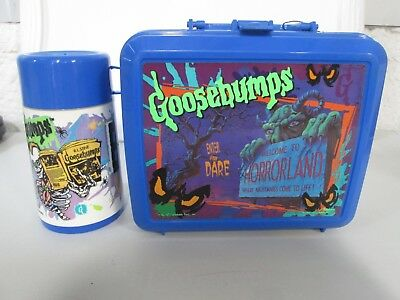 Aladdin Goosebumps Plastic Lunchbox with Thermos