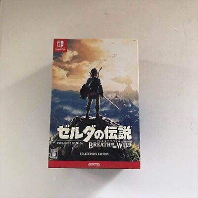 Nintendo Switch The Legend of Zelda Breath of the Wild Collector's Edition NEW