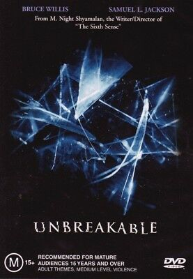 Unbreakable = NEW DVD R4