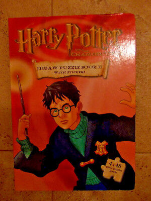 Harry Potter hardcover jigsaw book (no missing pieces) 5 jigsaws altogether