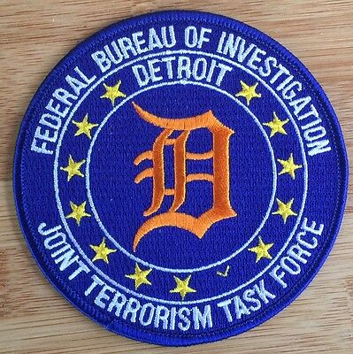 FBI Detroit Field Office JTTF - Joint Terrorism TF Genuine *Kokopelli Patch*