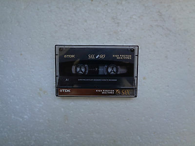 Vintage Audio Cassette TDK SA-X 90 From 1995 - Fantastic Condition !!
