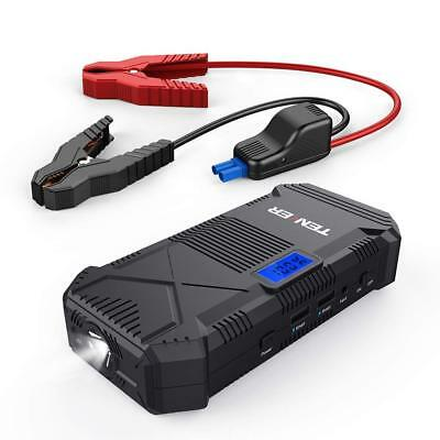 Portable Car Jump Starter 14000 mAh Emergency Battery Booster Pack USB FREE POST