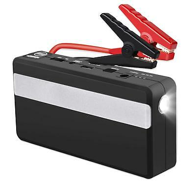 Car Jump Starter, 15000mAh 600A 12-Volt Peak Portable Battery Booster Power Bank