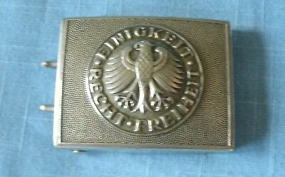 "West German Army Belt Buckle ""einigkeit, Recht, Freiheit"""