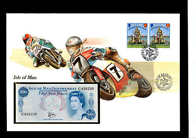 Banknotenbrief Isle of Man 1983, Philswiss