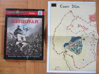 Middle Earth Realm Angmar + MAP I.C.E. #2018 MERS MERP Lord Rings Rolemaster ccg