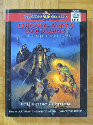 Middle Earth Collector´s Second Edition Hardcover I.C.E. #2000 MERS Rolemaster