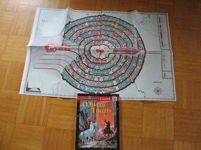 Middle Earth Citadel Minas Tirith + 2 MAPS I.C.E. #2007 MERS MERP Lord Rings Com