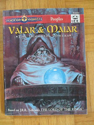 Middle Earth Peoples Valar & Maiar I.C.E. #2006 MERS Merp Lord Rings Rolemaster