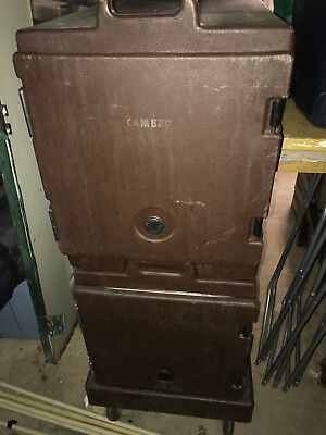 Cambro (Two +Cart and Wheels) Local Pickup Only
