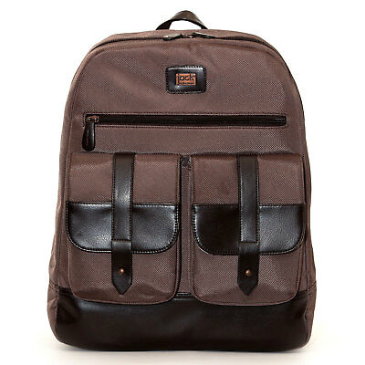 Jill-e Jack 15 inch Laptop Backpack Traditional Convert to Camera Bag