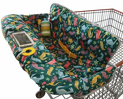 Shopping Cart Cover for Baby Or Toddler | 2-in-1 High Chair Cover | Universal...