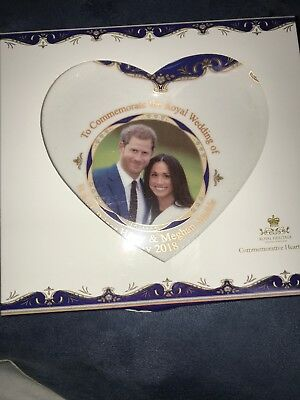 Royal Heritage H.R.H Harry and Meghan Markle Wedding Commemorative Heart Shape