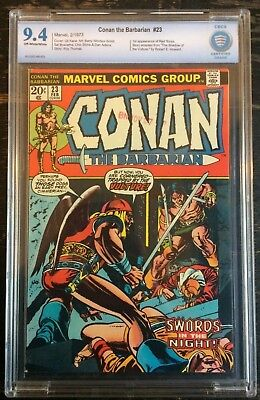 Conan the Barbarian #23 1973 CBCS 9.4 1st Appearance of Red Sonjia CGC