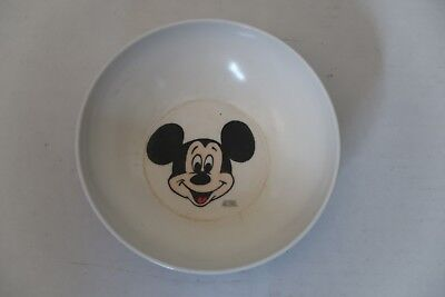 Vintage 1961 Walt Disney Productions Mickey Mouse Plastic Bowl