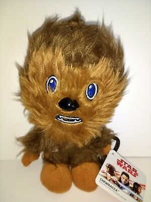 Star Wars Chewbacca plush Brand NEW! Has Bowcaster. Great Collector's Item!