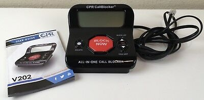 CPR Call Blocker V202 Block 1000 numbers at the touch of a button TESTED