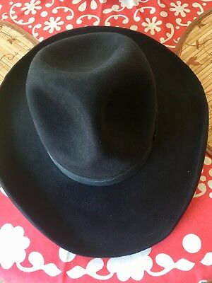 Vintage  Cowboy Hat - size 7 1/8 From the RoundUp Hat Co.